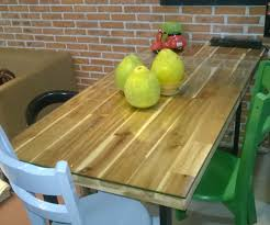 The Home Made Industrial Style Dining Table 7 Steps With Pictures