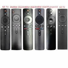 For Xiaomi Mi TV Box S BOX 3 BOX 4X MI TV 4X Voice Bluetooth Remote Control  with the Google Assistant Control|Remote Controls