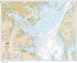 12278 Chesapeake Bay Approaches To Baltimore Harbor Nautical Chart