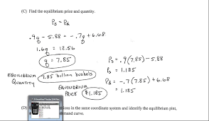 math 1630 supply and demand equations problem 60