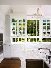 Kitchen Cabinets With Windows Decoration Kitchen With Windows Ideas Rs Cohen And Hacker White
