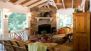 screened with fireplace and white rafters the gas for porch wall electric fireplaces porches sun