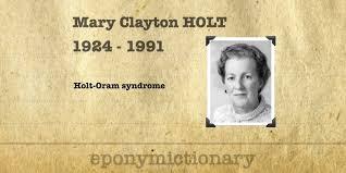 Mary Holt • LITFL • Medical Eponym Library