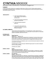 assembly line resume sample assembly line engineer resume sample