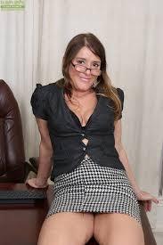 Female mature nude photo stripper