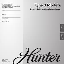 hunter fairhaven user manual pages also for  hunter 22549 52 fairhaven user manual 18 pages also for 22550 52 fairhaven 22548 52 fairhaven
