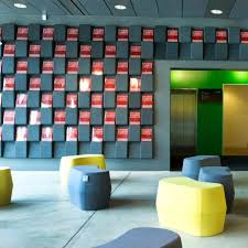 interior acoustic panel for interior walls wall mounted felt window by jonas forsman