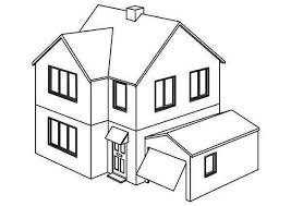 Small Picture Opening Garage Houses Coloring Page NetArt