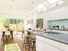 good homes design. before and after: bright kitchen-diner patio extension good homes design