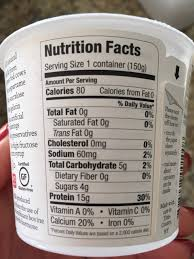 there are only 80 calories per serving for the plain variety see photo