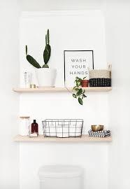 stylish bathroom shelving ideas