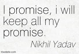 I Promise Quotes