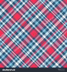 Seamless Tartan Plaid Pattern Checkered Fabric Stockvector