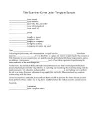 Claims Examiner Cover Letter Free Rental Receipt Template Word