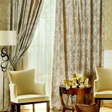 stylish living room window curtains