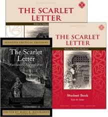 Scarlet Letter Book Cover The Scarlet Letter Set Memoria Press Classical Christian Curriculum