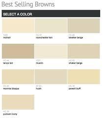 Behr Beige Color Chart Taupe Paint Color
