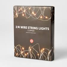 Decorative Lights Target 2m Copper Wire String Lights