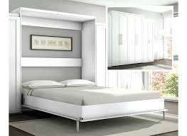 its also available in a dark finish and it has an depth so you can fit a really nice mattress inside the bed frame white wall bed wall mounted murphy