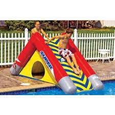 inflatable inground pool slide. Beautiful Slide Super Slope Inflatable Pool Slide And Inground