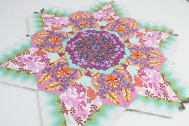 Paper Piecing Flower Craftsy Month Quick And Easy English Paper Piecing