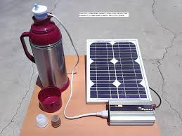 sm 614 mini solar water heaters instant water heater in vacuum flask or thermo bottle powered by 10 watts or higher wattage solar panel inverter