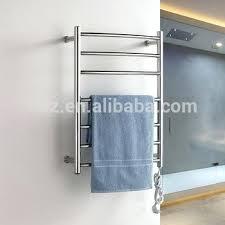 towel warmer rack. Towel Heated Rack Electric Warmer Rails Wall Mounted