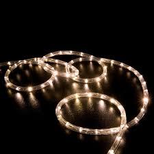 christmas rope lighting. Led Rope Light Warm White 100 Feet Christmas Lighting A