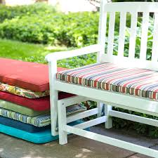 outdoor bench cushion furniture replacement cushions sunbrella inches