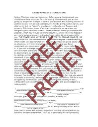 Power Of Attorney Forms Templates Durable Medical General Bank ...