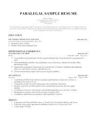 Word 2007 Resume Template Interesting Entry Level Paralegal Resume Samples Resume Media Entry Level
