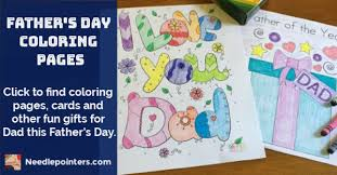 Includes 9 free printable father's day coloring sheets. Free Printable Father S Day Coloring Pages And Cards For Kids Needlepointers Com