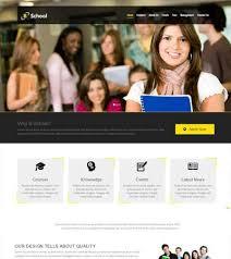 Kids School Website Template School Website Webthemez