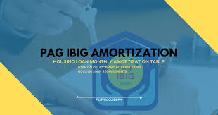 Loan Amortizer Updated Pag Ibig Housing Loan Monthly Amortization Table