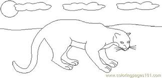 Small Picture Panther Coloring Page Free Panther Coloring Pages