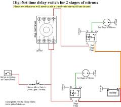 need wiring diagram for 2 stages w trans brake and digiset my first kit is activated off the transbrake through the 7531 the digest starts counting when 1st kit comes on