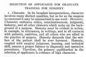 first yfa essay contest winner the promise of a profession lies   1939 bulletin selection of applicants for graduate training for surgery