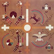 the navajo have elevated sand painting to a fabulous spiritual art form it is a very meticulous process were were originally created only by spirit doctors