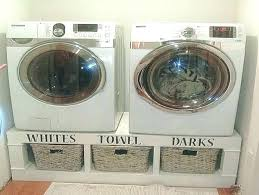 washer and dryer pedestal pedestal base for washer and dryer washer dryer pedestal with drawers white