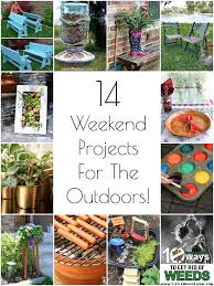 diy outdoor projects. Brilliant Projects 14 DIY Outdoor Weekend Projects And Diy