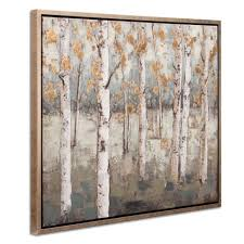 30 x38 amongst the birch trees framed canvas art champagne patton wall decor target on framed canvas wall art target with 30 x38 amongst the birch trees framed canvas art champagne patton