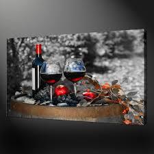 wine canvas wall art uk