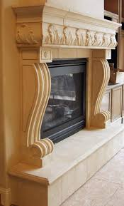 naples cast stone fireplace mantels surrounds with raised hearth from artisankraftfireplaces