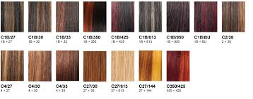 Red Hair Weave Color Chart Outre Color Charts