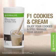 herbalife formula 1 nutritional shake mix cookies n cream t body slimming
