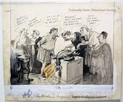 """12523-70 - Cartoon; Herbert Johnson; """"The Modern Augurs"""""""