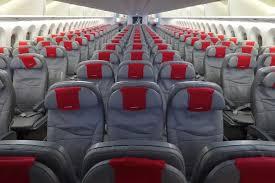 norwegian s 787 economy cabin norwegian