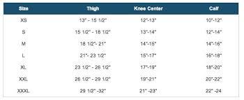 Donjoy Knee Brace Size Chart Donjoy Oa Fullforce Knee Brace Orthomed Canada