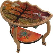 artistic furniture. accent half round table by sticks hal002 s314209 artistic furniture