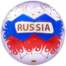 Футбольный <b>мяч Jogel</b> 2018 <b>Russia</b> №5 white/blue/red купить ...